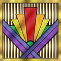 Rainbow Art Deco by Chuck Staley