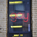 Gay Sign by Robert Skuja