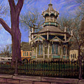 Gazebo At Wisconsin Club by Anita Burgermeister