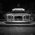 Gazebo In Bw by Imagery by Charly