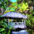 Gazebo In Paradise by Mark Andrew Thomas