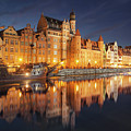 Gdansk By Night by Marcus Lindstrom