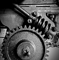 Gear In Monochrome by Chalet Roome-Rigdon