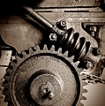 Gear In Sepia by Chalet Roome-Rigdon