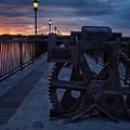 Gears At Daybreak  by Buck Buchanan
