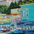 Geary Street by Rick Nederlof