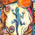 Gecko by Patricia Allingham Carlson