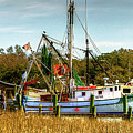 Geechie Seafood Shrimp Boats by TJ Baccari