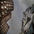 Gehry Buildings Dusseldorf by Peter Mojzes