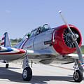 Geico Skytypers Snj-2 World War II-era Planes by Anthony Totah