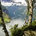 Geiranger Fjord by Heiko Koehrer-Wagner