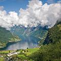 Geirangerfjord by Aivar Mikko