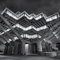 Geisel Library In Black And White by Eddie Yerkish