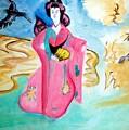 Geisha Butterfly by Stanley Morganstein