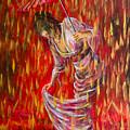 Geisha - Rain Dance 01 by Nik Helbig