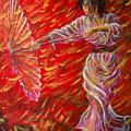 Geisha - Rain Dance 02 by Nik Helbig