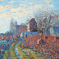 Gelee Blanche by Alfred Sisley