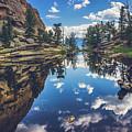 Gem Lake Reflections by Andy Konieczny