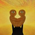 Gemini. Self-portrait by Oleg Konin
