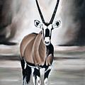 Gemsbok - Solitude by Ilse Kleyn