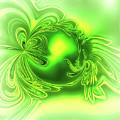 Gemstone Green Tourmaline by Eva-Maria Di Bella