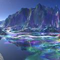 Gemstone Mountain  by Heinz G Mielke