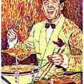Gene Krupa The Drummer by David Lloyd Glover