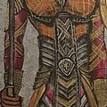 General Okoye Of The Wakandian Elite Forces   by Kevin F Bell