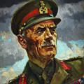 General Sir Alan Cunningham by Harold Foster