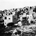General View Of Bethlehem 1800s by Munir Alawi