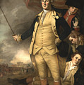General Washington At The Battle Of Princeton by War Is Hell Store