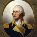 General Washington - Porthole Portrait  by War Is Hell Store