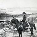 General William T Sherman On Horseback - C 1864 by International  Images