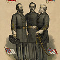 Generals Jackson Beauregard And Lee by War Is Hell Store