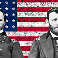Generals Sherman And Grant  by War Is Hell Store