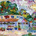 Gene's Farm Stand by Popo  Flanigan