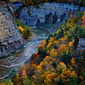 Genesee River Gorge II by Rick Berk