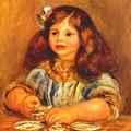 Genevieve Bernheim De Villers 1910 by Renoir PierreAuguste
