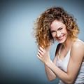 Geniue Portrait Of A Young Positive, Smiling Girl. by Michal Bednarek