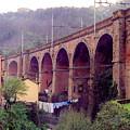 Genoa Railroad Bridge by Al Blackford