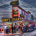 Geno's Cheesesteaks by E R Smith