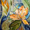 Geo Day Lilies by Mindy Newman