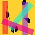 Geometric Art 419 by Bill Owen