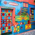 Geometric Art In Burano by Lisa Lemmons-Powers