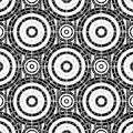 Geometric Black And White by Gaspar Avila