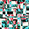 Geometric Confusion 2 by Shawna Rowe