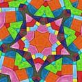 Geometric Pattern 1 by Jeffrey Todd Moore