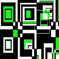 Geometric Pizazz 4 by Candice Danielle Hughes