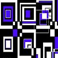 Geometric Pizazz 5 by Candice Danielle Hughes