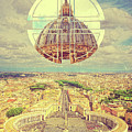 Geometric Vatican St Peters Square Basilica Dome Italy Rome by Beverly Claire Kaiya